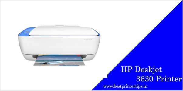 HP Deskjet 3630 Driver Latest - Download