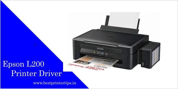 Epson L200 Printer Driver Free Download | Printer & Scanner